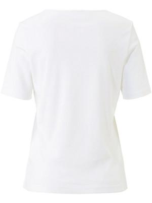Peter Hahn - Leicht tailliertes Rundhals-Shirt mit 1/2-Arm