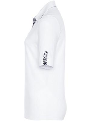 Peter Hahn - Polo-Shirt mit Krempel-Halbarm