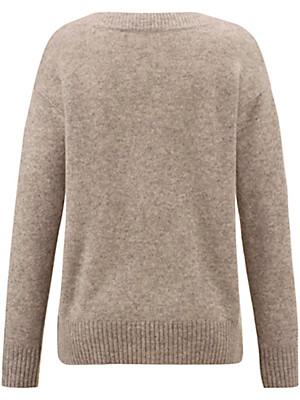 Peter Hahn - Rundhals-Pullover aus 100% Schurwolle