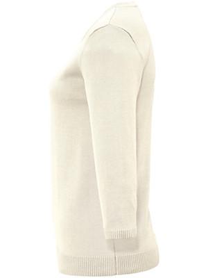Peter Hahn - Rundhals-Pullover mit 3/4-Arm