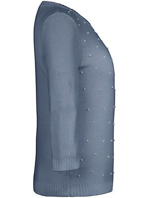 Peter Hahn - Rundhals-Pullover mit 3/4  Arm