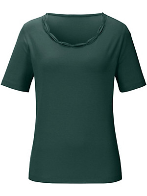 Peter Hahn - Rundhals-Shirt in elastischem Viskose-Jersey