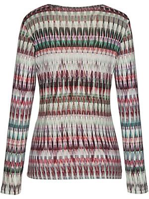 Peter Hahn - Rundhals-Shirt in leicht taillierter Form