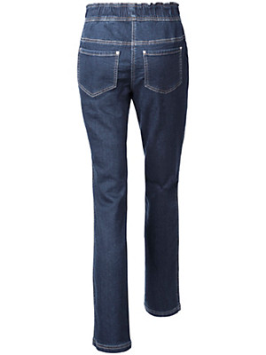 Peter Hahn - Schlupf-Jeans aus Sweat-Denim
