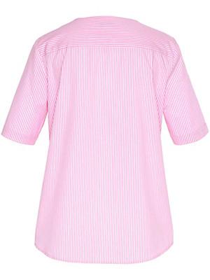 Peter Hahn - Streifen-Bluse in 100% Baumwolle mit 1/2-Arm