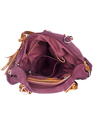 Peter Hahn - Tasche aus Veloursleder