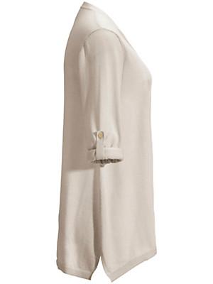 Peter Hahn - V-Pullover mit leicht ausgestellter A-Linie