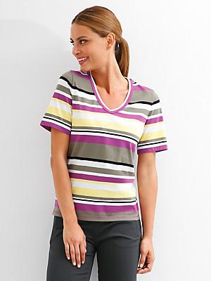 Peter Hahn - V-Shirt aus 100% Baumwolle