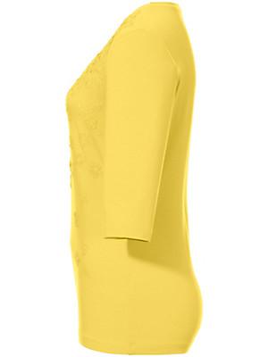 Peter Hahn - Weiches Rundhals-Shirt mit 3/4-Arm
