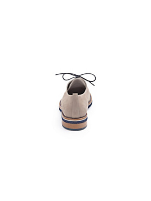Scarpio - Schnürer aus softem Kalbsnubukleder