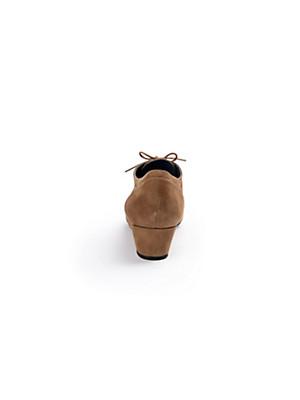 Scarpio - Schnürer aus Ziegenveloursleder
