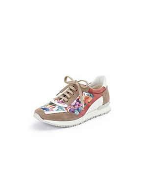 Scarpio - Sneaker aus Ziegenvelours- und Ziegennappaleder