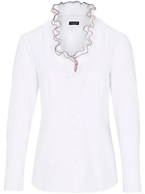 Schneiders Salzburg - Bluse mit V-Ausschnitt aus 100% Baumwolle