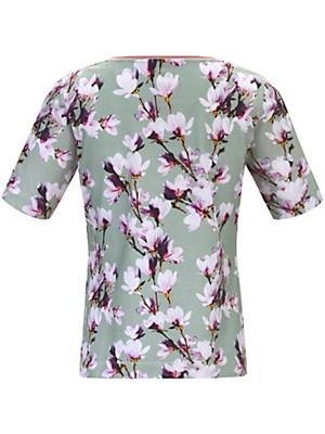 Schneiders Salzburg - Rundhals-Shirt mit einem längeren 1/2-Arm