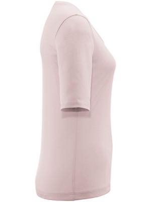 Strenesse - Rundhals-Shirt mit längerem 1/2-Arm