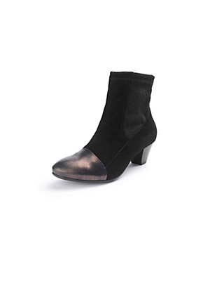 Think! - Stiefelette in Metallic-Optik