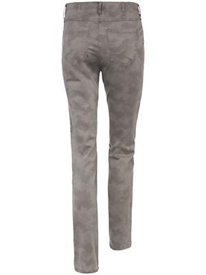 Toni - Jeans mit  Camouflage-Print