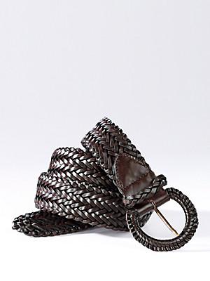 Uta Raasch - Flechtgürtel aus edlen Nappaleder-Bändern