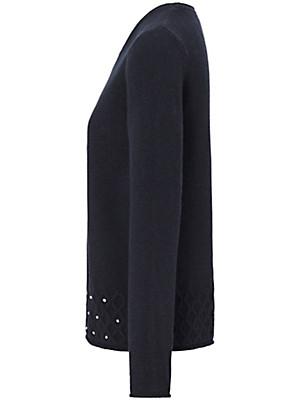 Uta Raasch - Rundhals-Pullover aus 100% Kaschmir