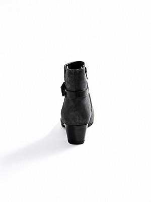 Vabeene - Stiefelette aus samtigem Ziegenveloursleder