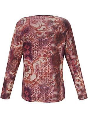 Via Appia Due - Shirt mit angesagtem Ethno-Dessin