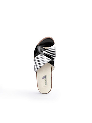 Waldläufer - Pantolette aus 100% Leder