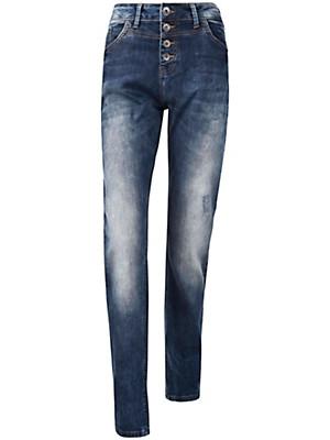 """zizzi - Jeans """"Nille Slim"""" mit Knopfverschluss"""