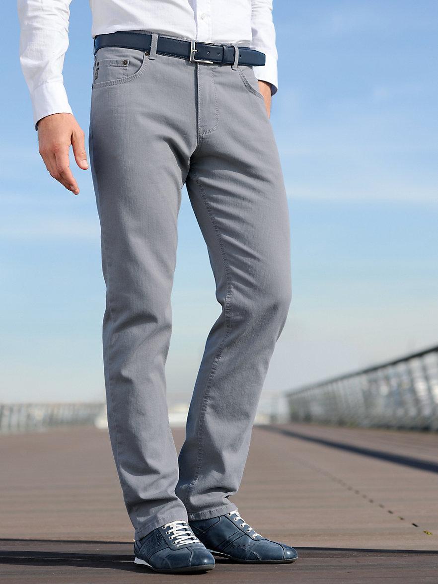 brax feel good jeans grey denim. Black Bedroom Furniture Sets. Home Design Ideas