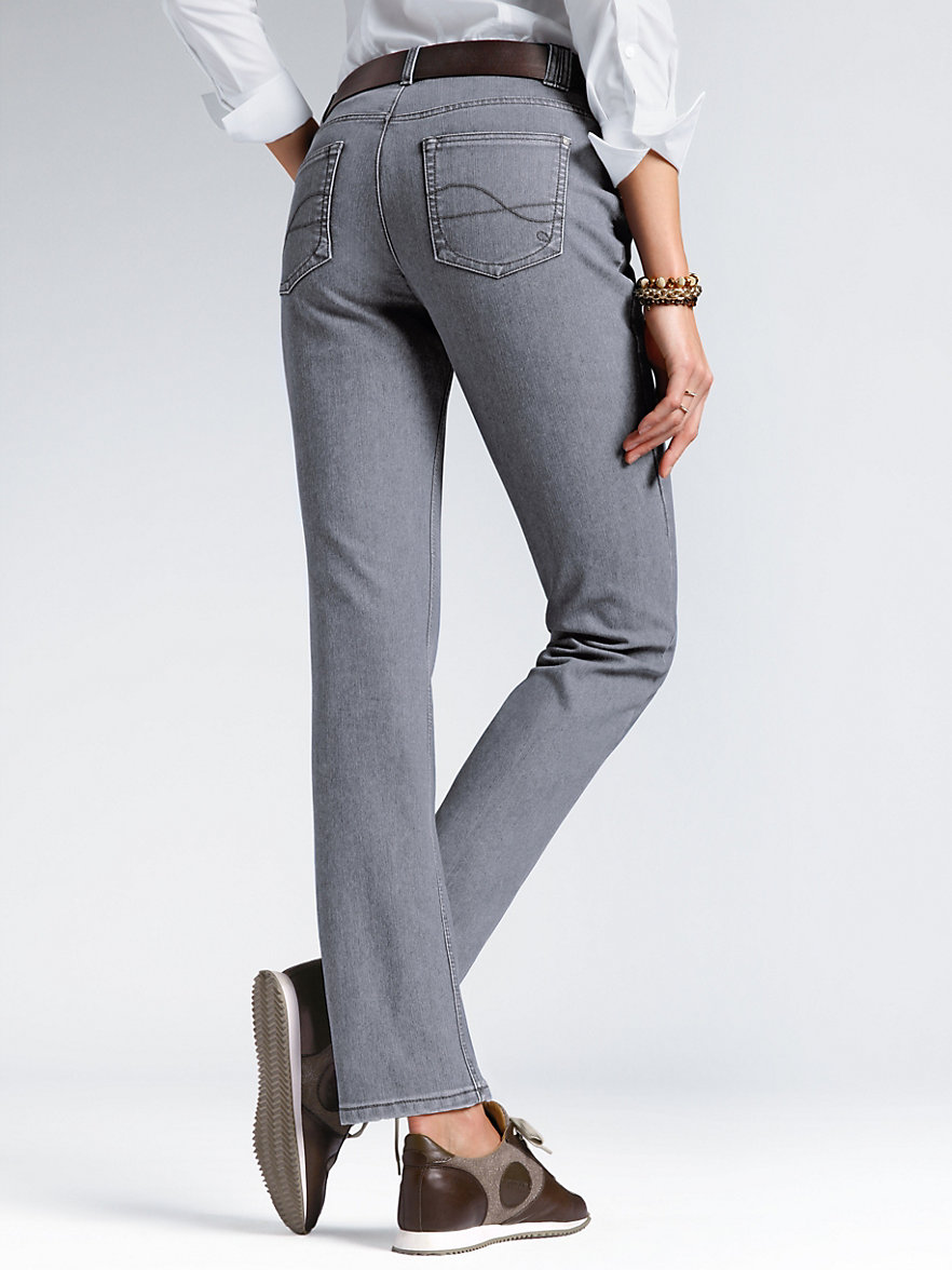 peter hahn thermo jeans grau denim. Black Bedroom Furniture Sets. Home Design Ideas