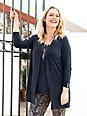 Anna Aura - Twinset mit 3/4-Arm aus brillantem Feinstrick