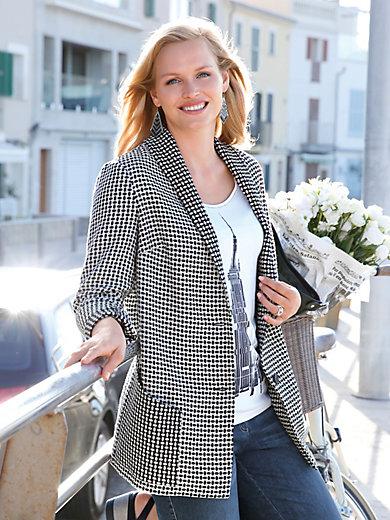 Anna Aura - Blazer mit tiefgezogenem Schalkragen