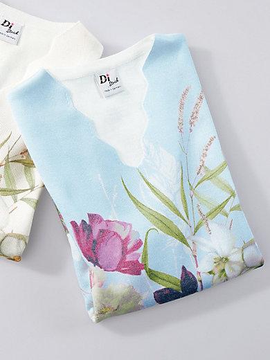Dingelstädter - V-Pullover mit langem 1/2-Arm
