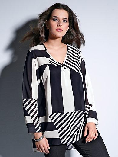 Doris Streich - Bluse mit V-Ausschnitt