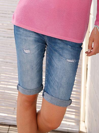 FLUFFY EARS - Jeans-Shorts
