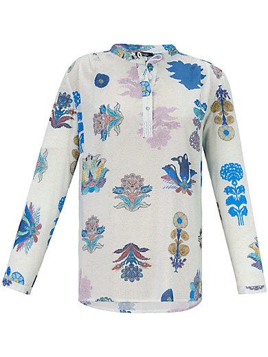 FRAPP - Bluse mit bildschönen Blumen-Ornamenten
