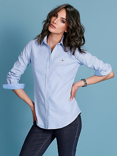 GANT - Bluse aus Cotton-Stretch