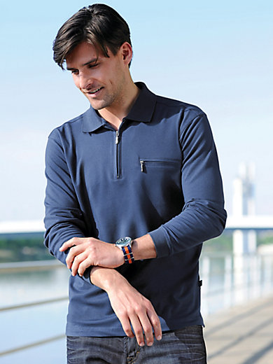 HAJO - Bügelfreies Polo-Shirt