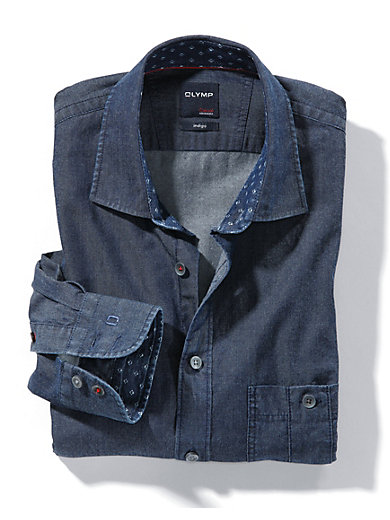 Olymp - Jeans-Hemd