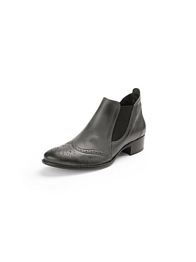 Paul Green - Chelsea-Boot mit Budapester Lochmuster