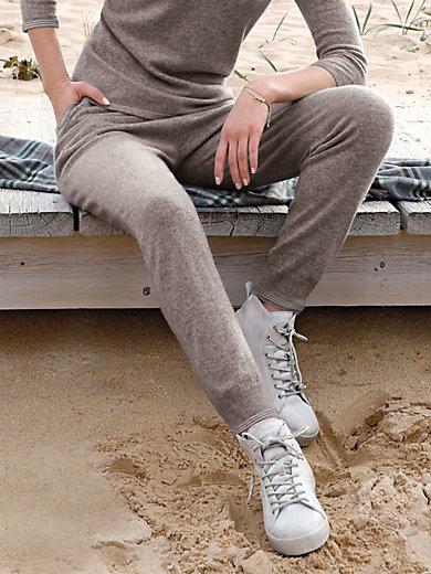 Peter Hahn Cashmere - Strickhose aus 100% Kaschmir