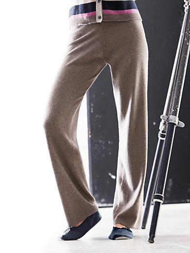 Peter Hahn Cashmere - Strickhose aus reinem Kaschmir