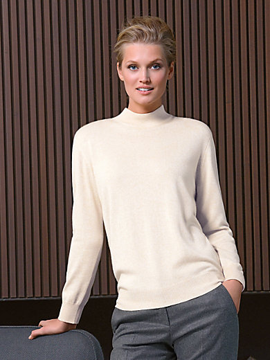Peter Hahn - Stehbund-Pullover – Modell SABRINA
