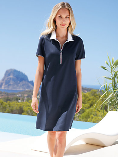 Pill - Polo-Kleid mit 1/4-Arm