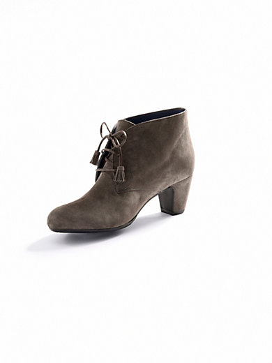 Scarpio - Ankle-Boot in Ziegenveloursleder