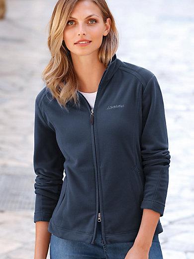 Schöffel - Fleece-Jacke - Modell LEONA mit seitlichen Taschen