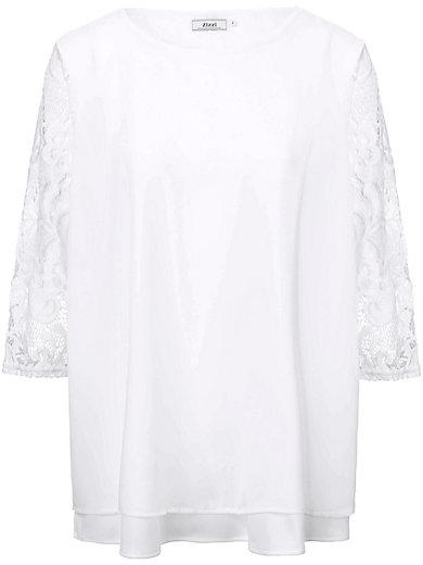 zizzi - Bluse mit Ärmeln aus Spitze